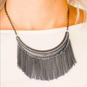 Zoo Zone - Black Necklace